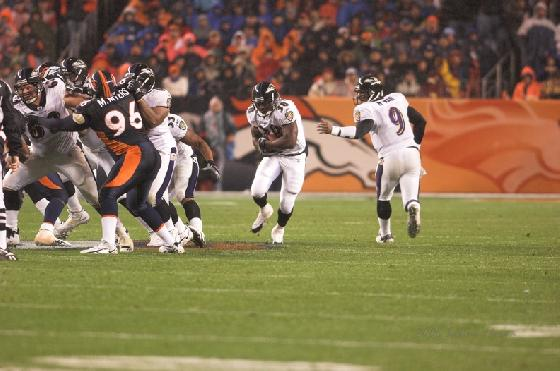 RAVENS NOTEBOOK: RUNNING GAME GETS STONEWALLED