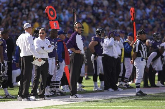 BILLICK ON THE SPOT AS PLAY CALLER