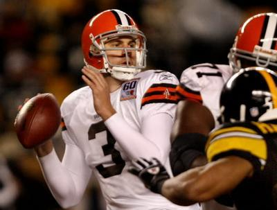 ANDERSON LEADING BROWNS IN RETURN TO BALTIMORE