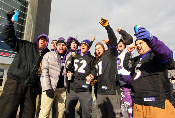 Ravens fans set to gather in Denver