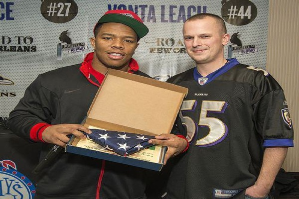 Ray Rice gives back in a big way (again)