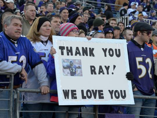 Ravens fans understand and accept Ray Lewis, no matter what media tells you