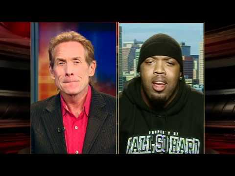 "Terrell Suggs rips ""Dirtbag"" Skip Bayless for his Brady/Tebow crushes"