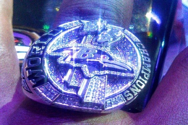 Ravens XLVII Super Bowl Rings Unveiled