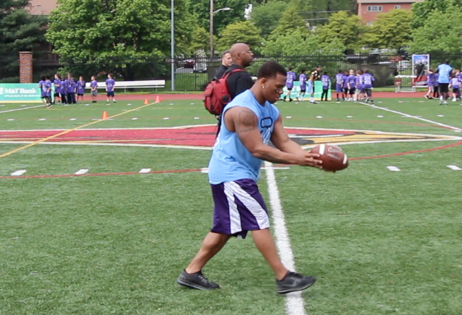 (Video) Ray Rice, the punter?