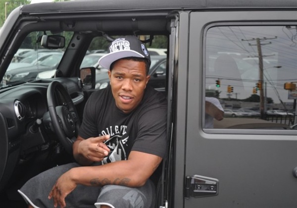 Want to own Ray Rice's Jeep?