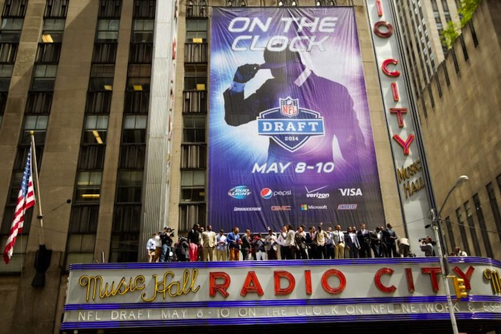 One Fan's Experience at Radio City on Draft Night
