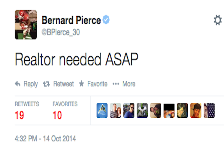 Is Bernard Pierce Moving On?