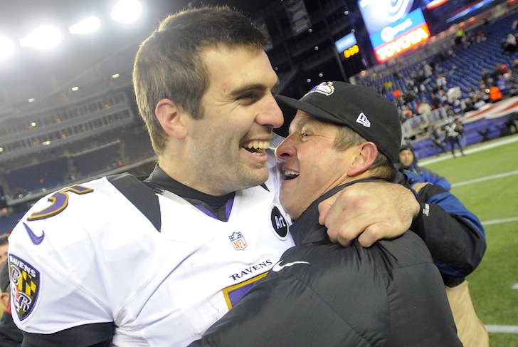 Harbaugh And Flacco Breaking Records