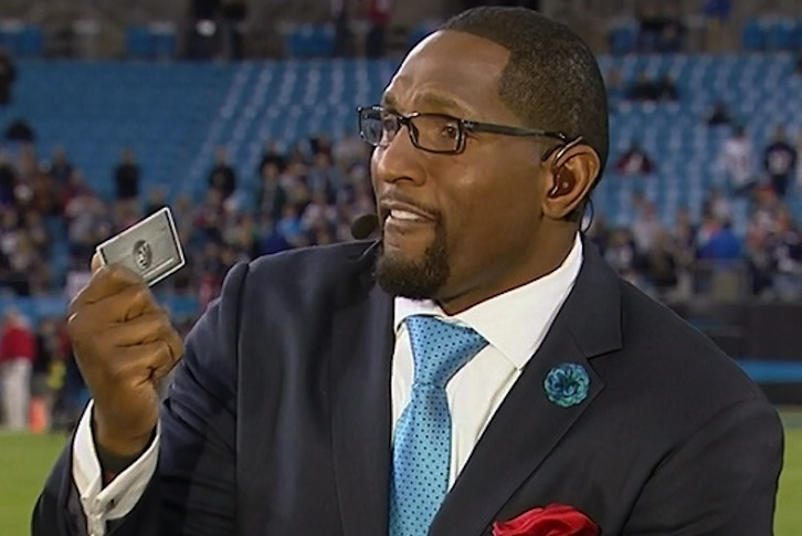 Ray Lewis Out at ESPN