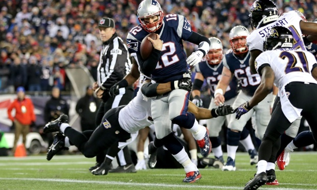 Pats' Adjustments Send Ravens Packing