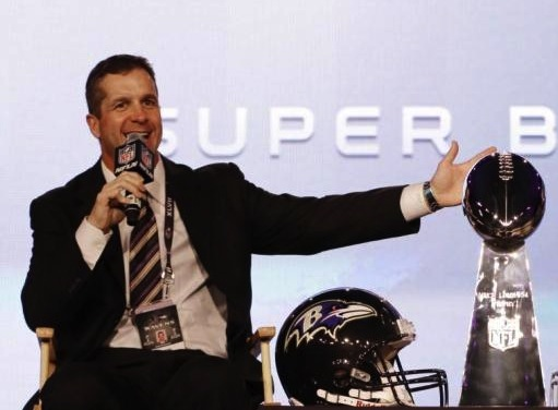 John Harbaugh to Make His NBC Debut