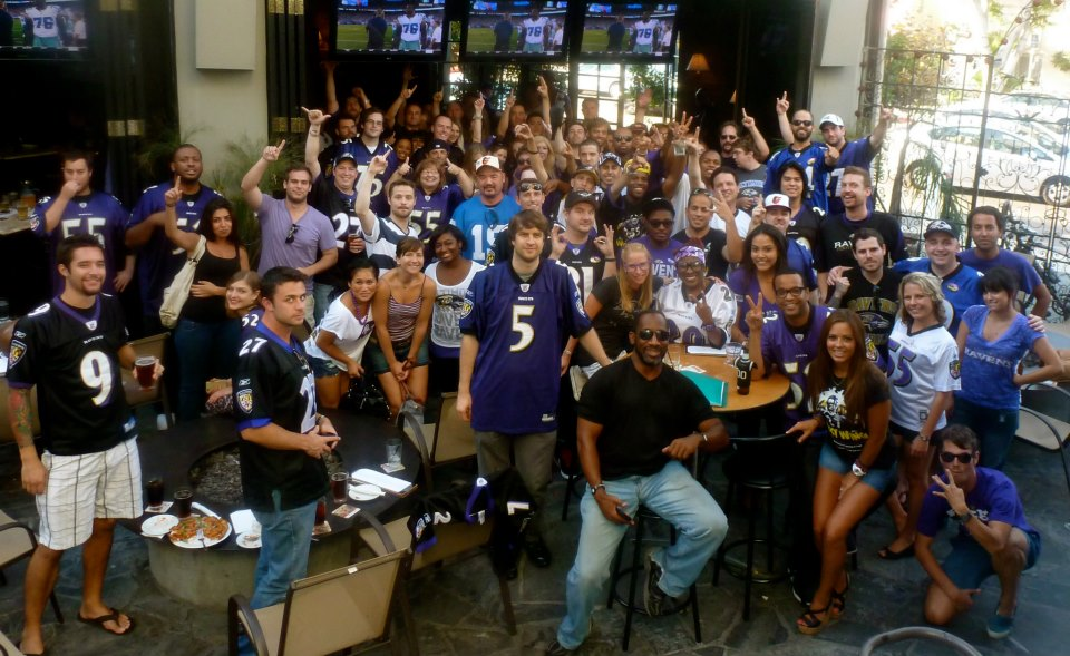 Where Can You Find The BEST Ravens Fans?