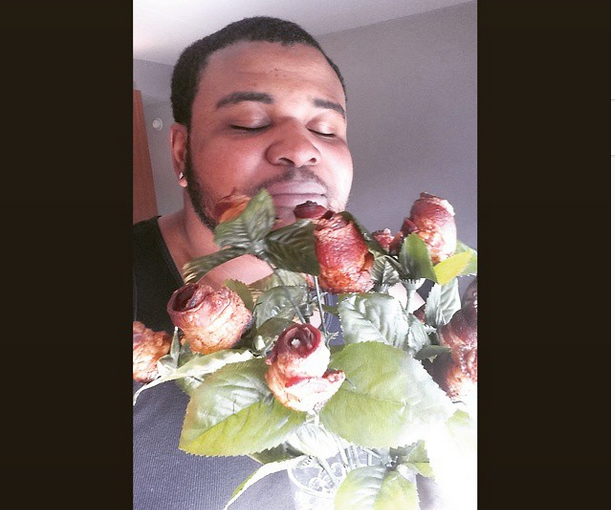 Brandon Williams Gets Bacon Roses
