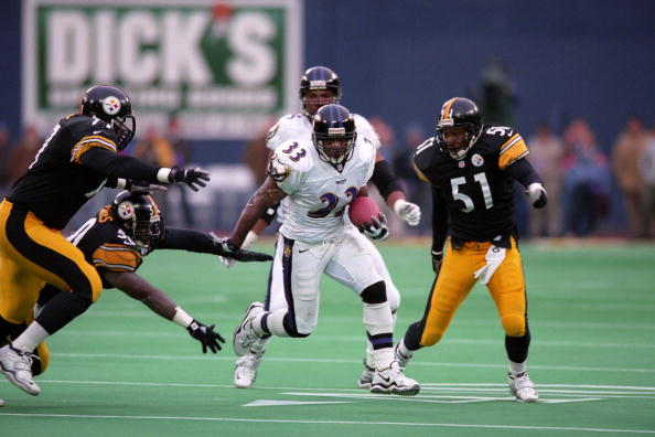 The Ravens First Win in Pittsburgh