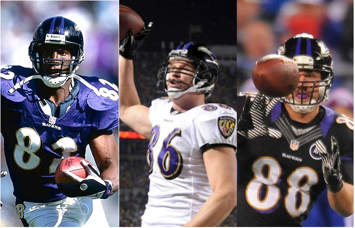 The Baltimore Ravens Tight End Legacy