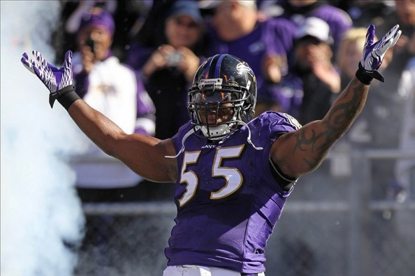 Terrell Suggs is a Raven