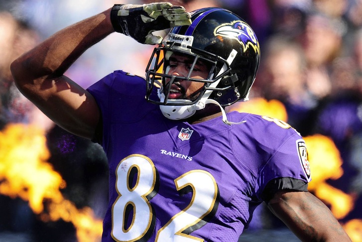 Torrey Smith Becomes a No. 1