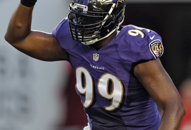 Ravens Re-Sign DE Chris Canty