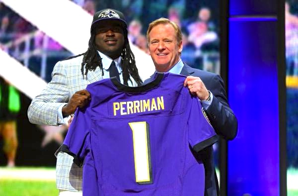 Ravens Select WR Perriman in Round 1
