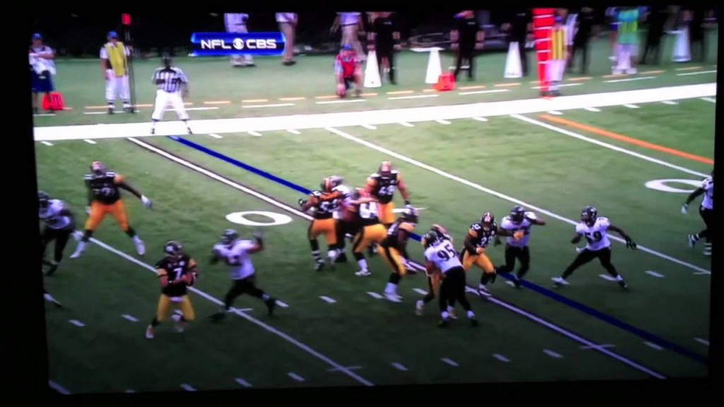 Hines Ward Hit Double J's Favorite Play