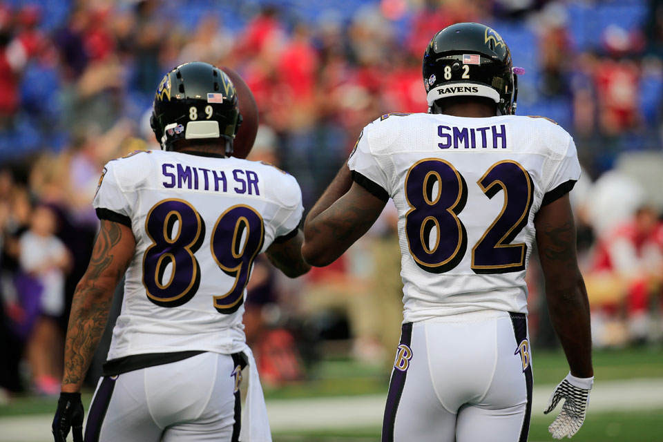 Baltimore Football's Best to Wear 89-80