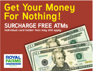 Royal Farms Surcharge Free ATMs