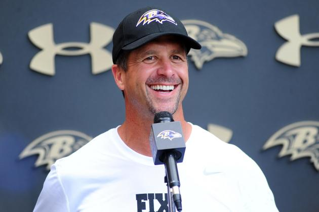 Ravens Lucky to Have Harbaugh