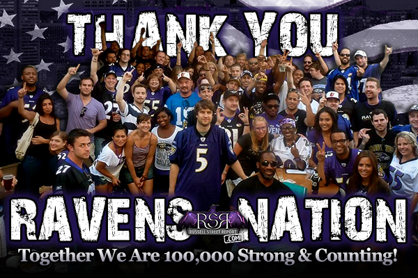 Thank You Ravens Nation