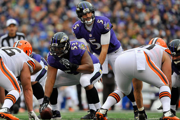 Joe Flacco's Predictable Cadence