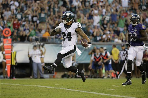 Report Card: Eagles Embarrass Ravens