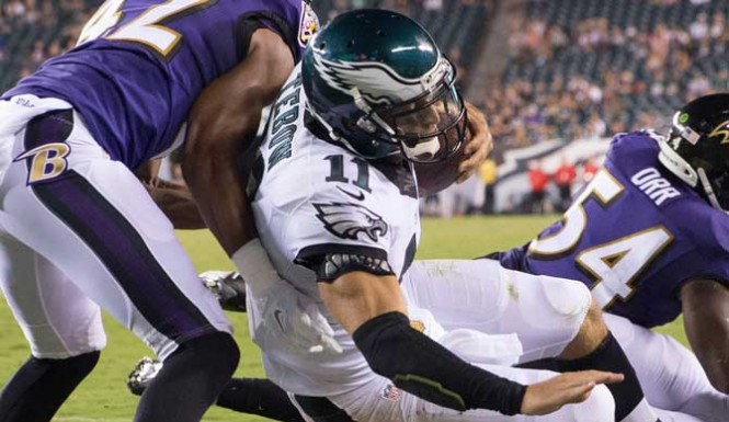 Ravens v. Eagles Preseason Ratings