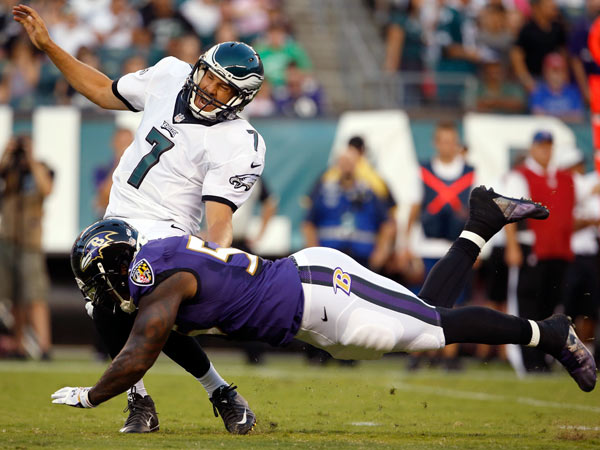 Knee Jerk Reactions: Eagles 40 Ravens 17