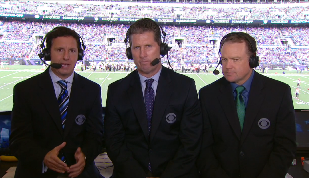 2015 NFL on CBS Announcers & Distribution: Week 7 | B-FLO 360