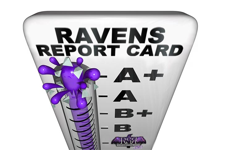 Report Card: Ravens at Falcons