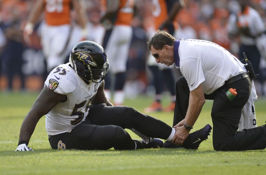 Terrell Suggs' injury could have career impact