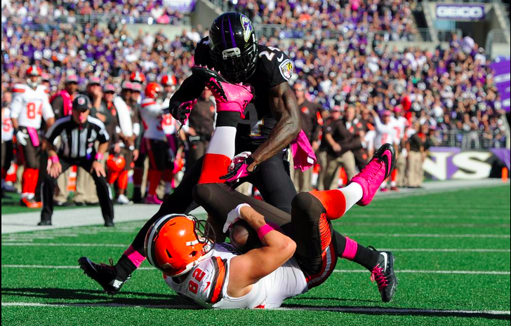 Ravens Fall to Browns 33-30