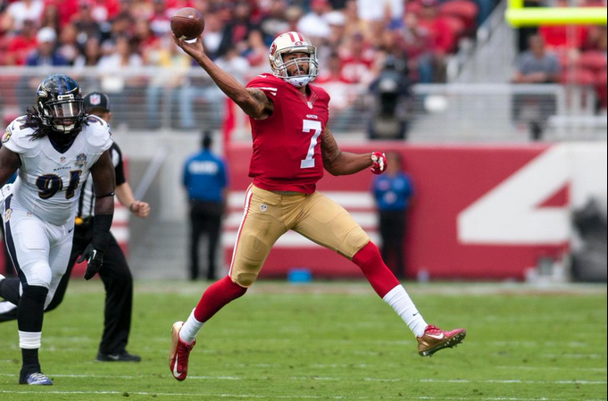 Chill with the Kaep-to-Ravens Chatter