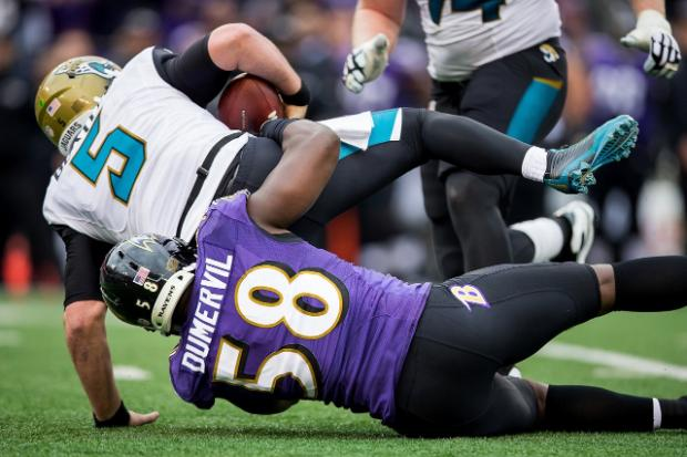 Ravens @ Jaguars – Thursday