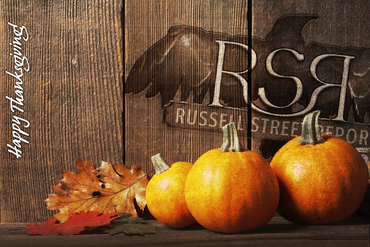 Happy Thanksgiving From RSR