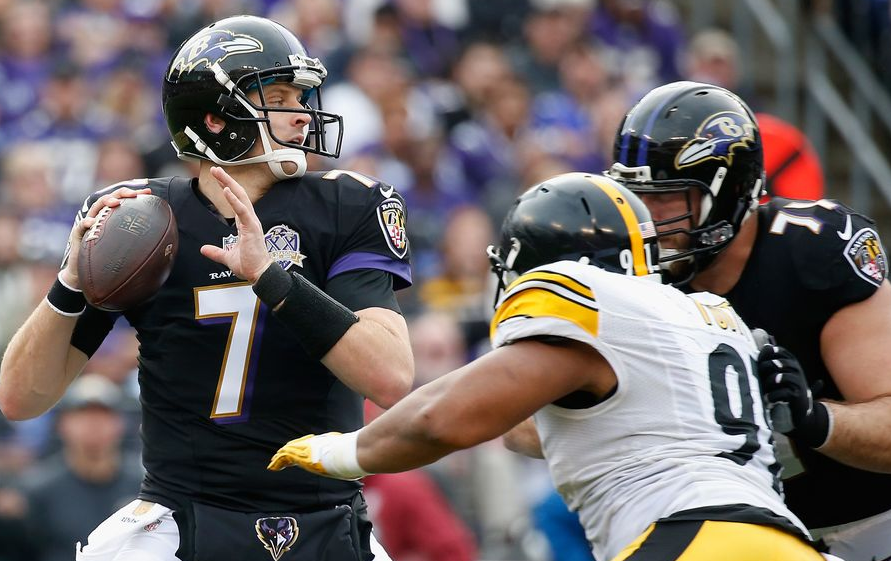 Ravens Upset Steelers, 20-17
