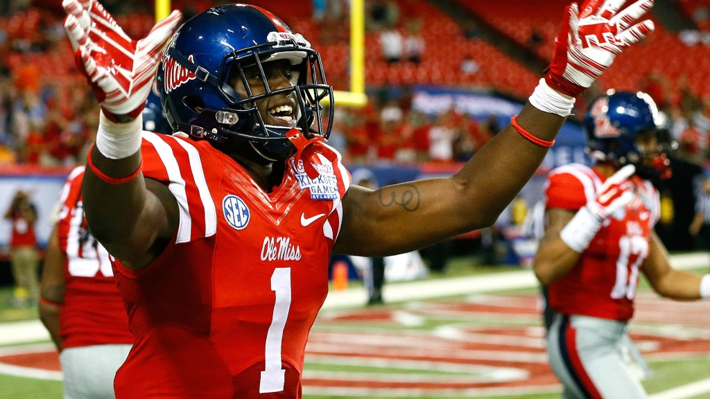 Laquon Treadwell: Strong Hands & Effort