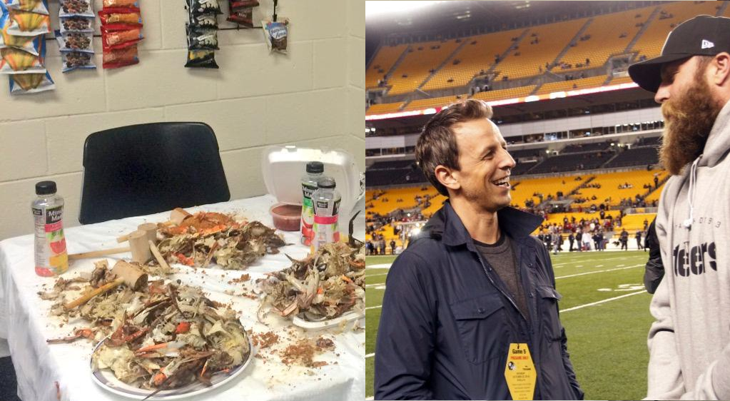 Crab-mallets-and-seth-meyers