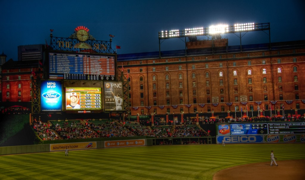 One Unusual Night at Camden Yards