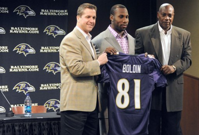Boldin to Baltimore
