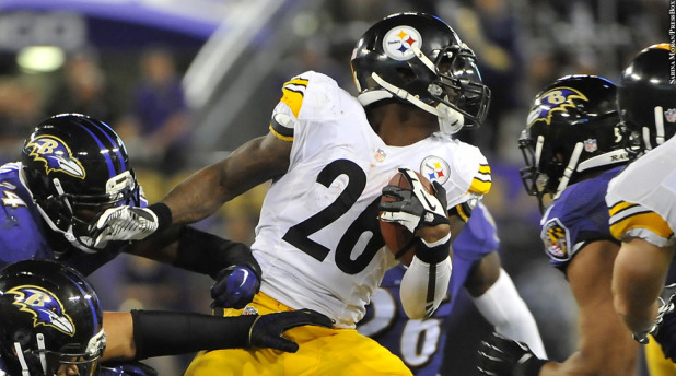 Steelers RB Goes After Ravens Fans