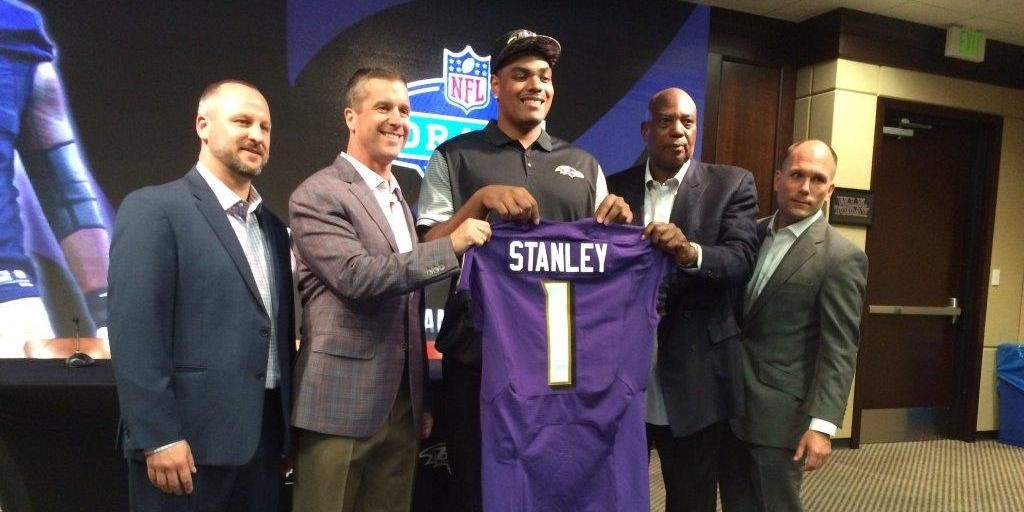 Ronnie Stanley Honored to Be a Raven