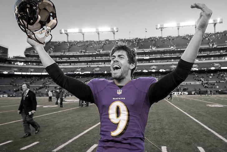 Justin Tucker's Performance Earns Honor