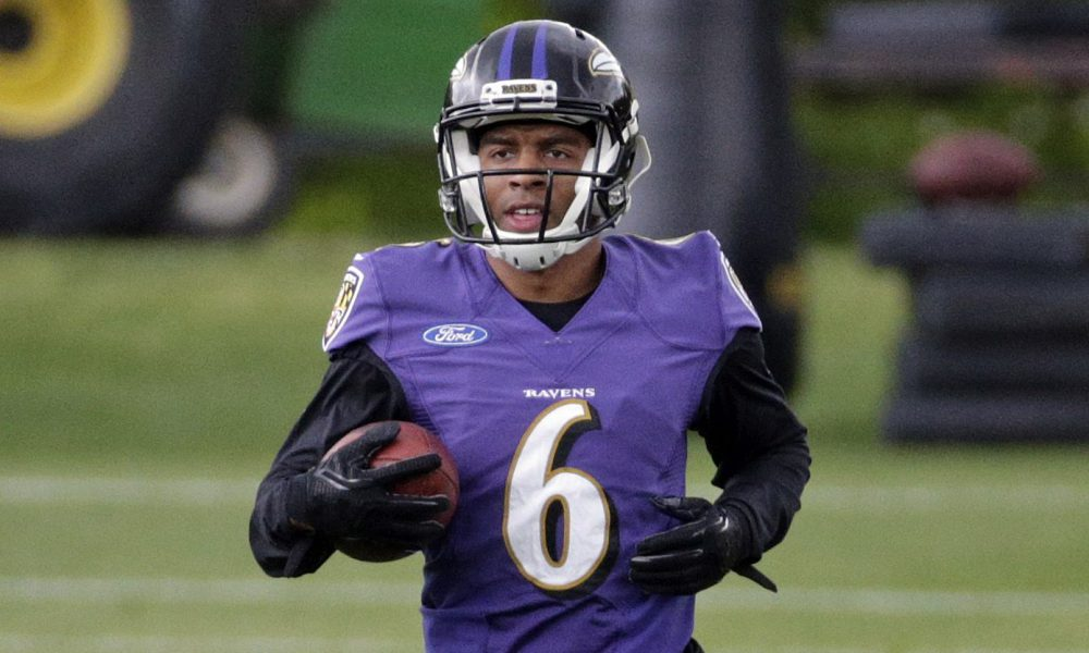 Ravens Punt Return Competition