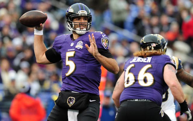 Protecting Joe Flacco